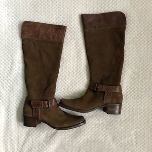 MATISSE Brown Tan Suede Leather Boot